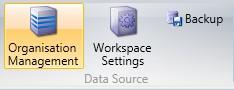 Org Management Button