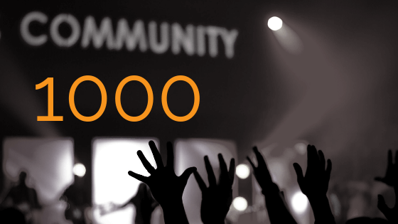 1000 customers: A Milestone for 2011