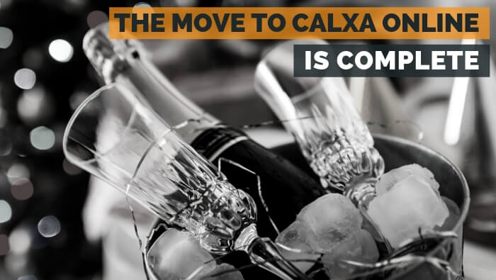 The Move to Calxa Online is Complete