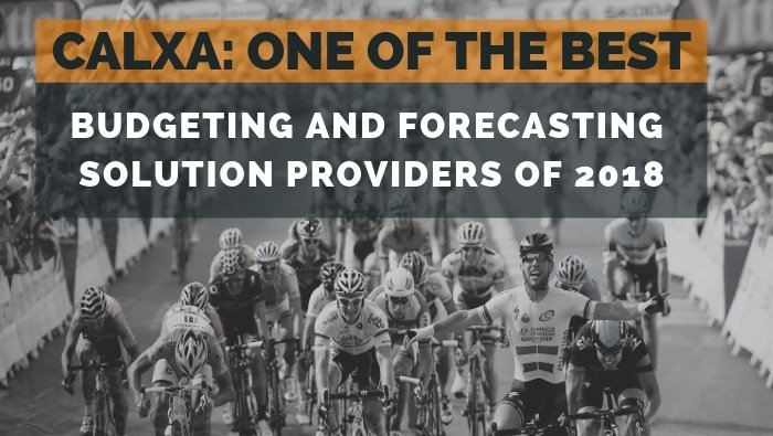Calxa One of the Best Budgeting and Forecasting Solution Providers of 2018
